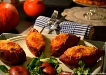 Patate douce farcie de sa purée (trilogie de Thanksgiving)