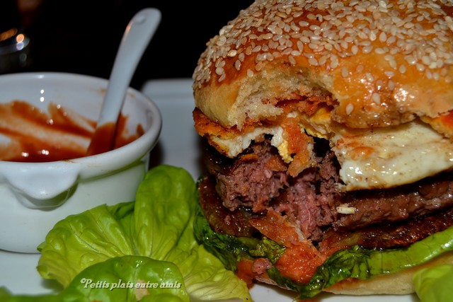 bouchée de hamburger