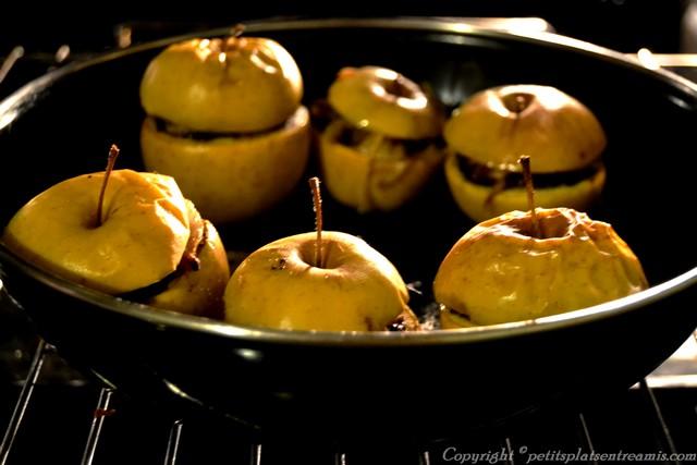 cuisson pommes au boudin