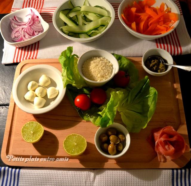 ingrédients salade vénitienne