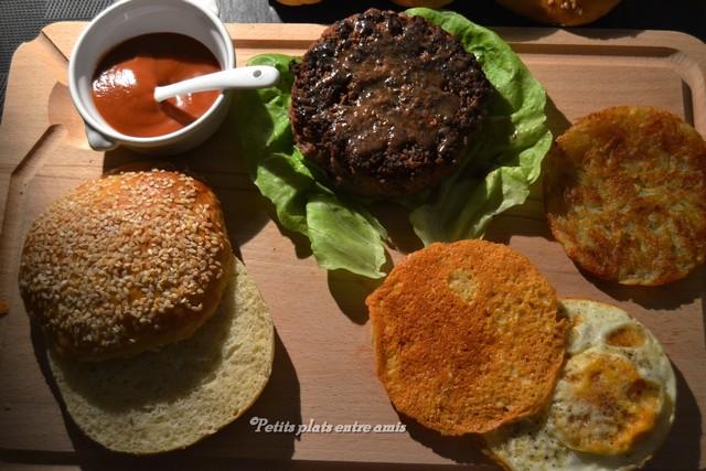 ingrédients sunday burger