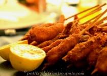 Farandole de crevettes panées
