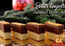 Petits lingots au caramel beurre salé