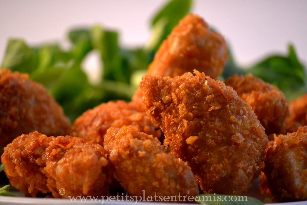 poulet pané au corn flakes