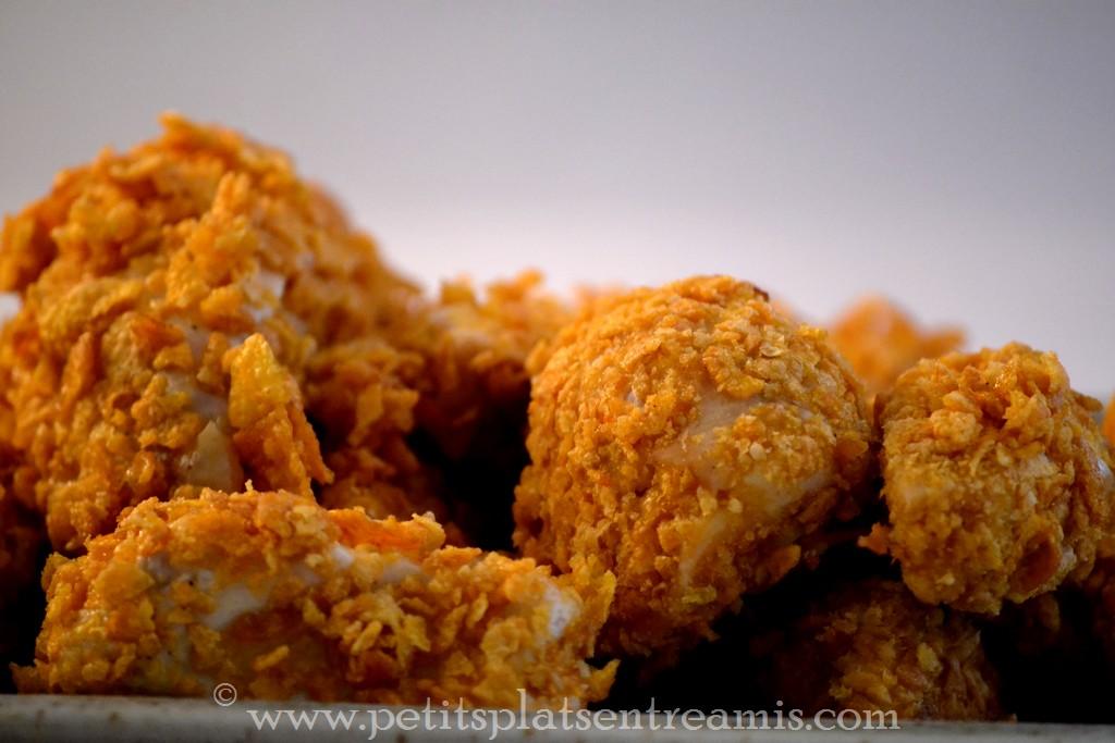 poulet pané avant cuisson