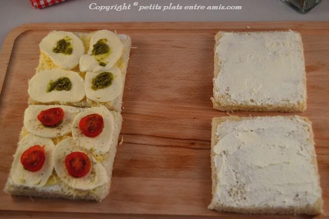 réalisation pain perdu aux 3 fromages 2