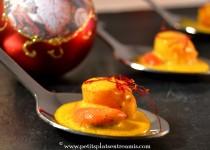 Bouchées de noix de saint-jacques au safran