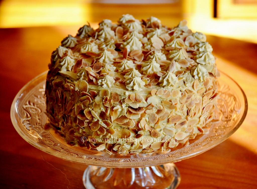 Gâteau de crêpes version Moka