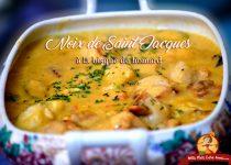 Noix de Saint-Jacques à la bisque de homard