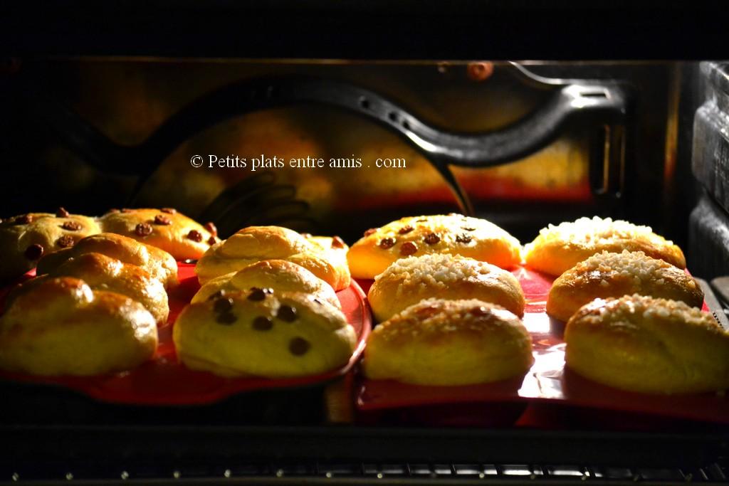 Petites brioches rapides petits plats entre amis for Plat rapide entre amis
