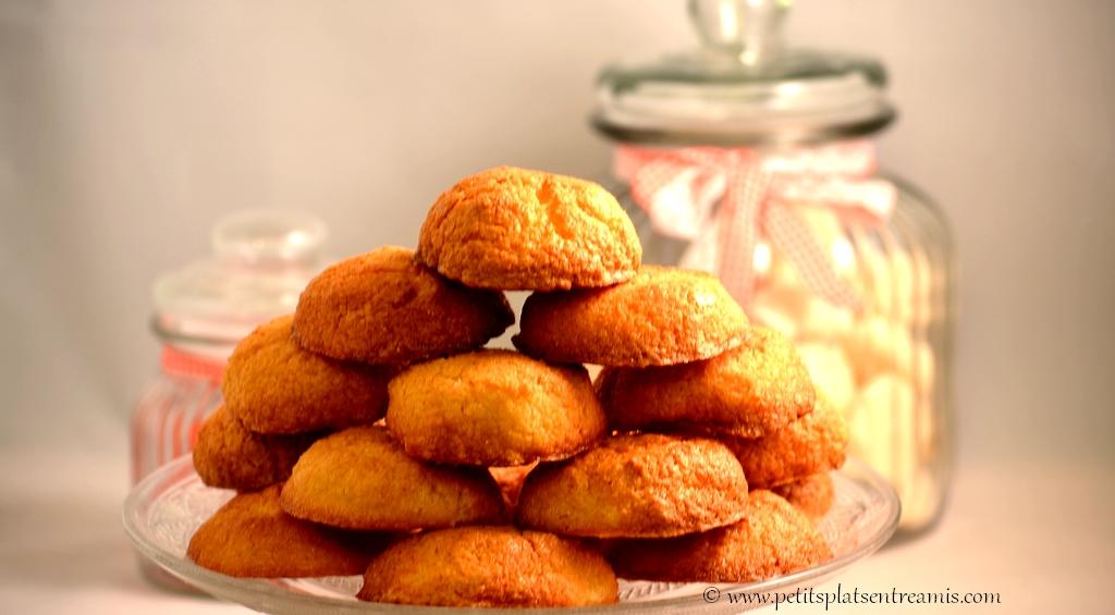 gâteaux à la noix de coco sur plat