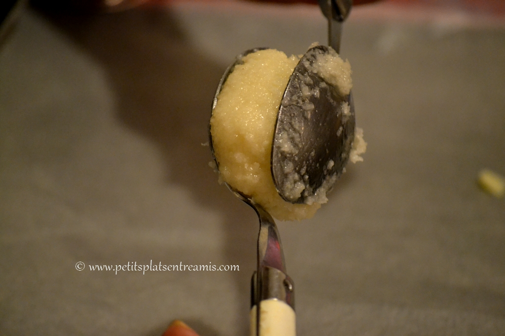 modelage petits gâteaux coco