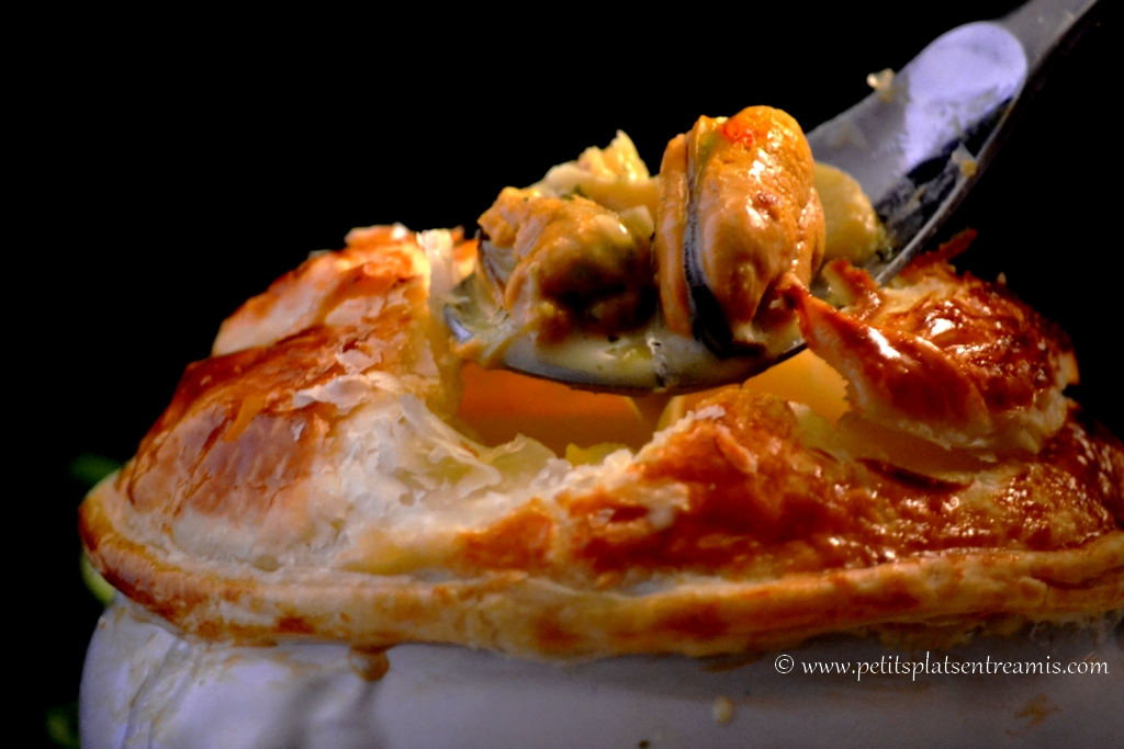 timbale de fruits de mer