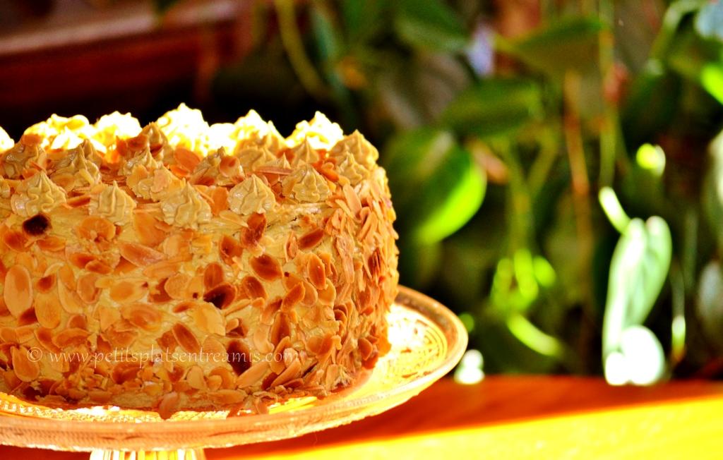 vue Gâteau de crêpes version Moka