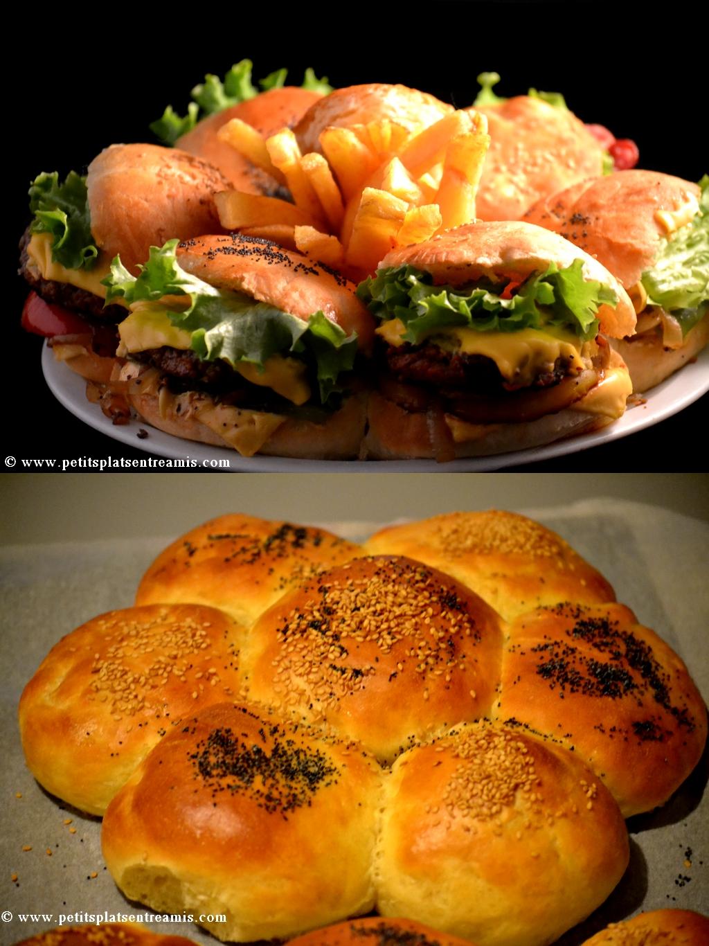 Hamburger 6 en 1 petits plats entre amis for Plats entre amis