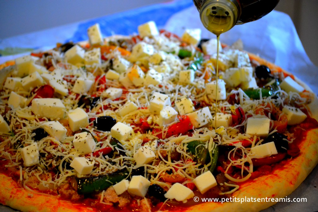Mozzarela pour pizza au thon