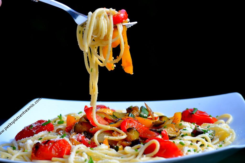 bouchée de spaghettis à la provençale