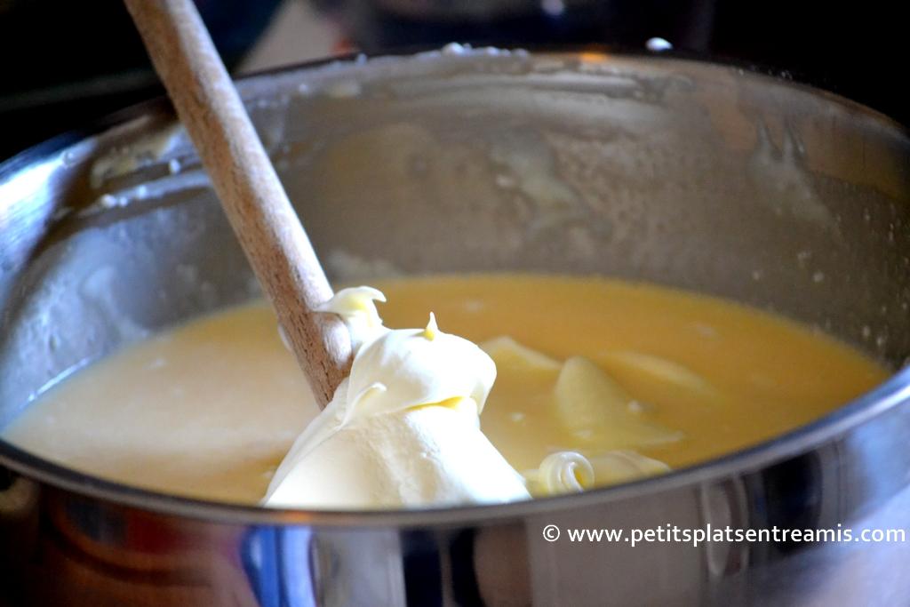 crème pour flan basilic