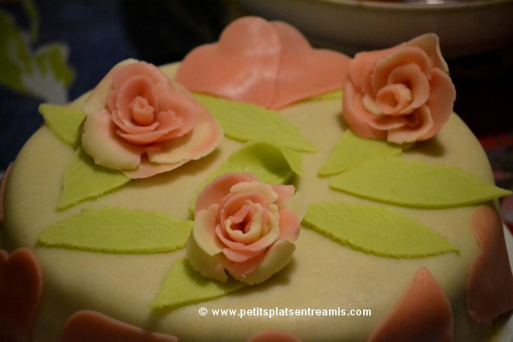 décoration gâteau de Saint-Valentin