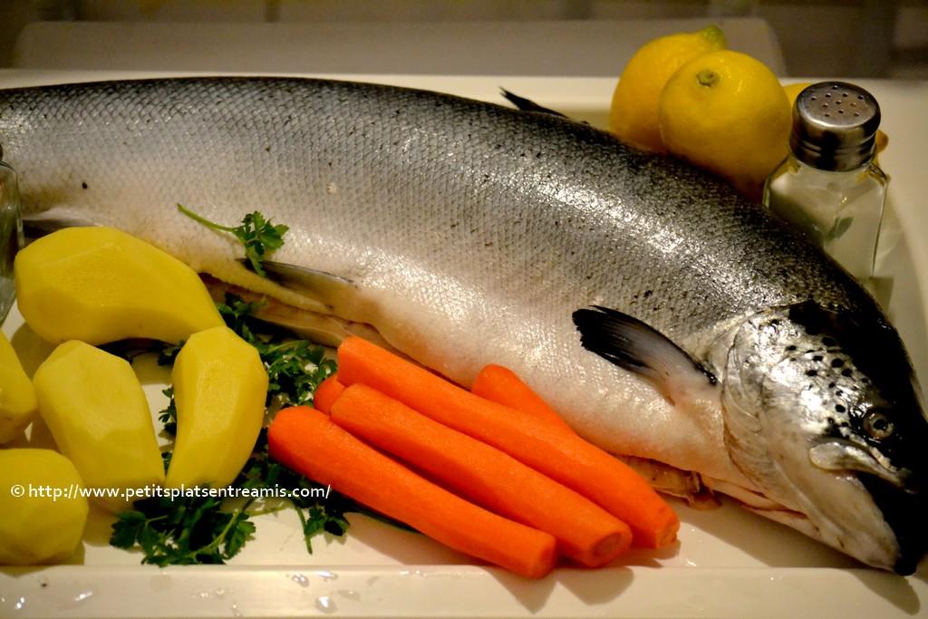 ingrédients saumon farci