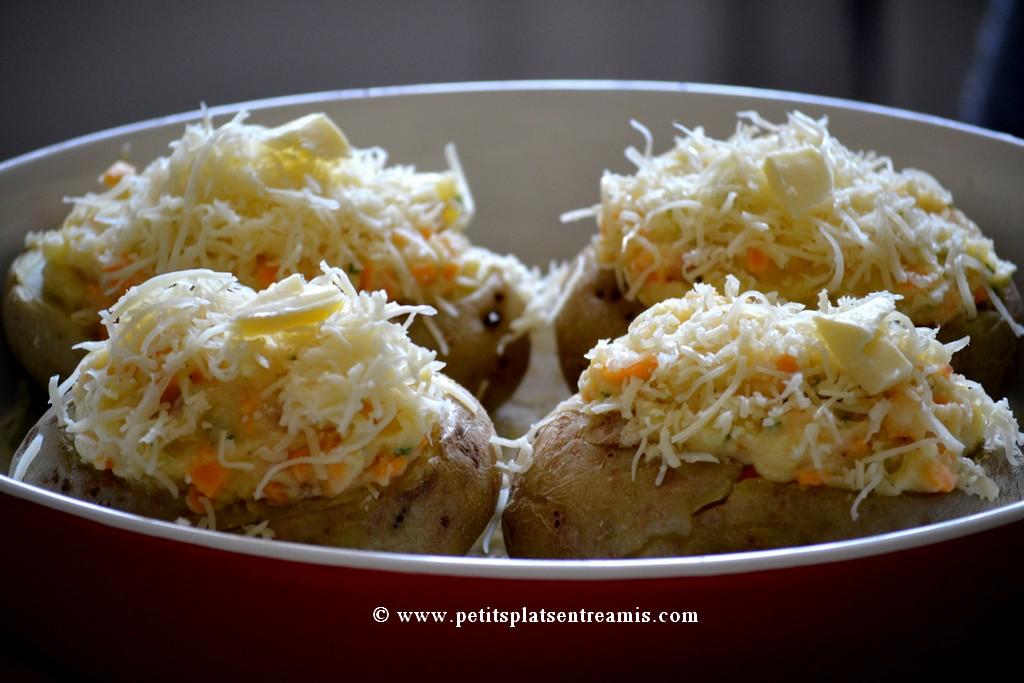 pommes de terre soufflées à cuire