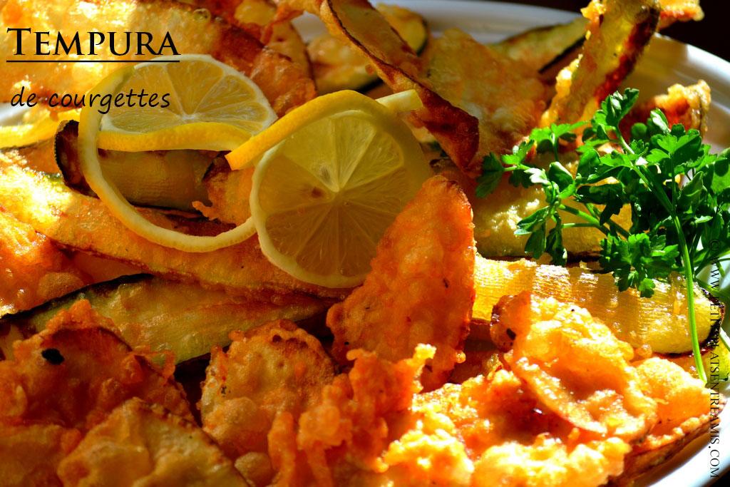 tempura à la une