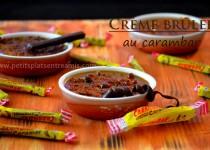 Crème brûlée au carambar
