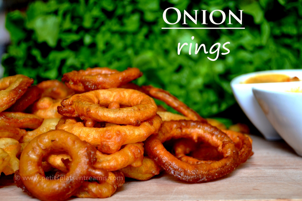 recette des onion rings traditionnelle petits plats. Black Bedroom Furniture Sets. Home Design Ideas