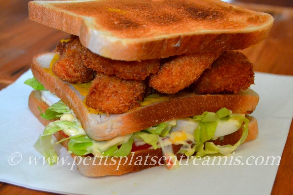 Présentation sandwich Melrose
