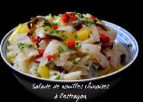 Salade de nouilles chinoises à l'estragon