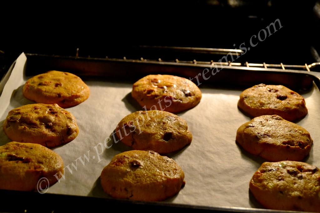 cookies au four