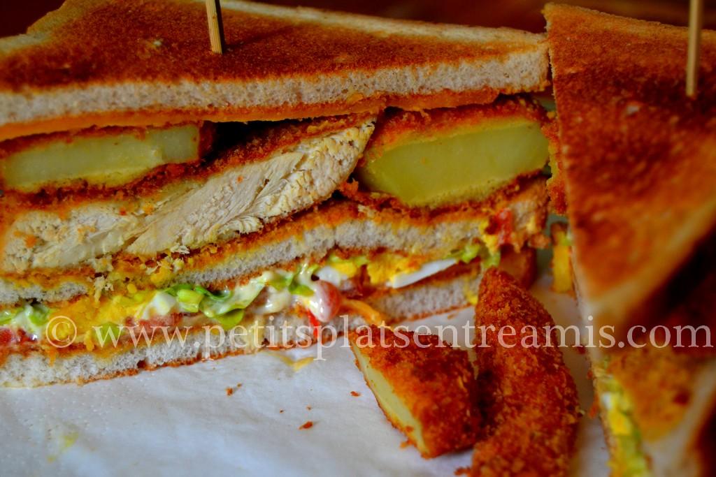 gros plan sandwich Melrose