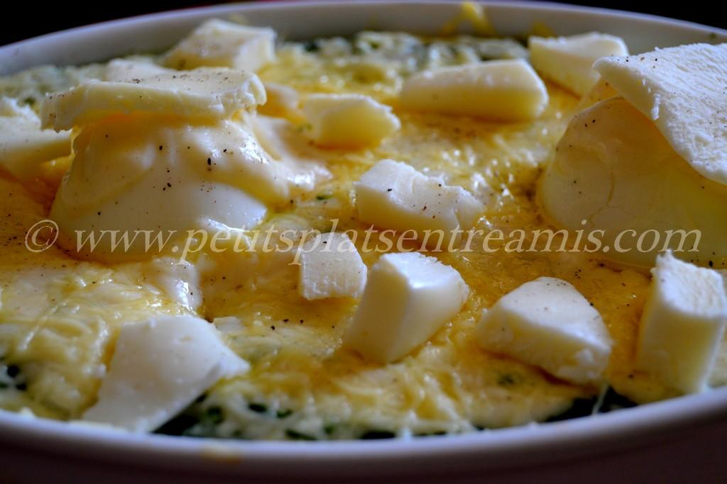 mozzarela sur oeufs à la florentine
