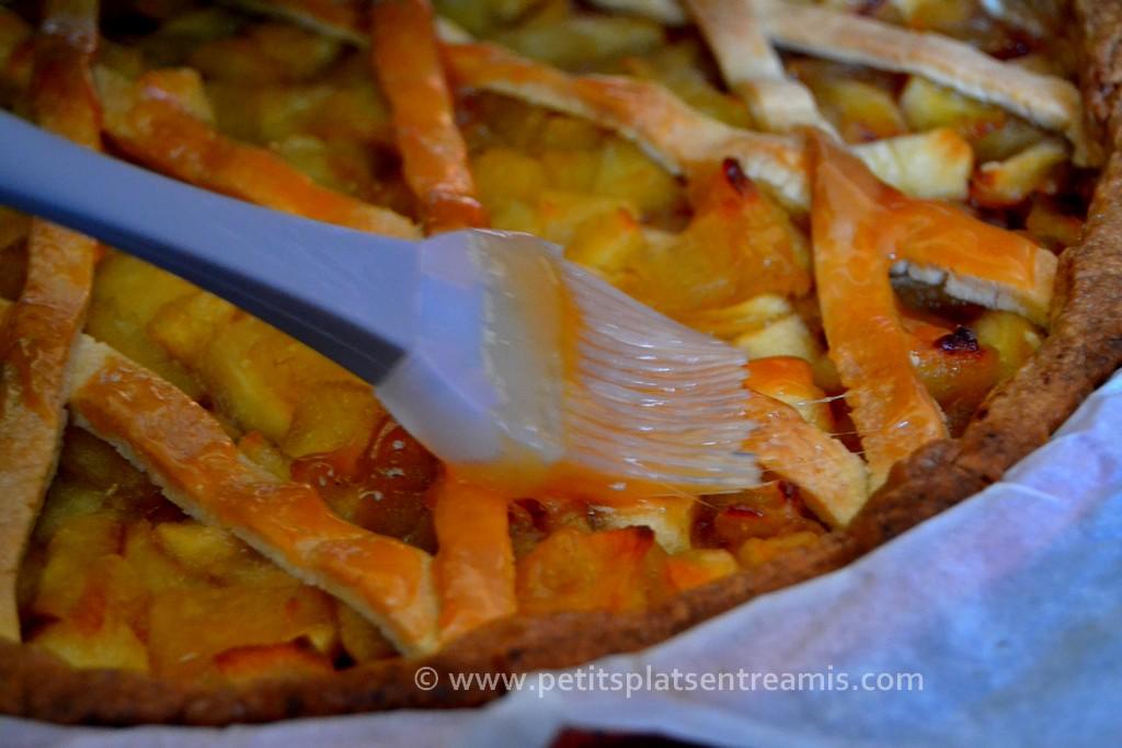 nappage tarte aux pommes