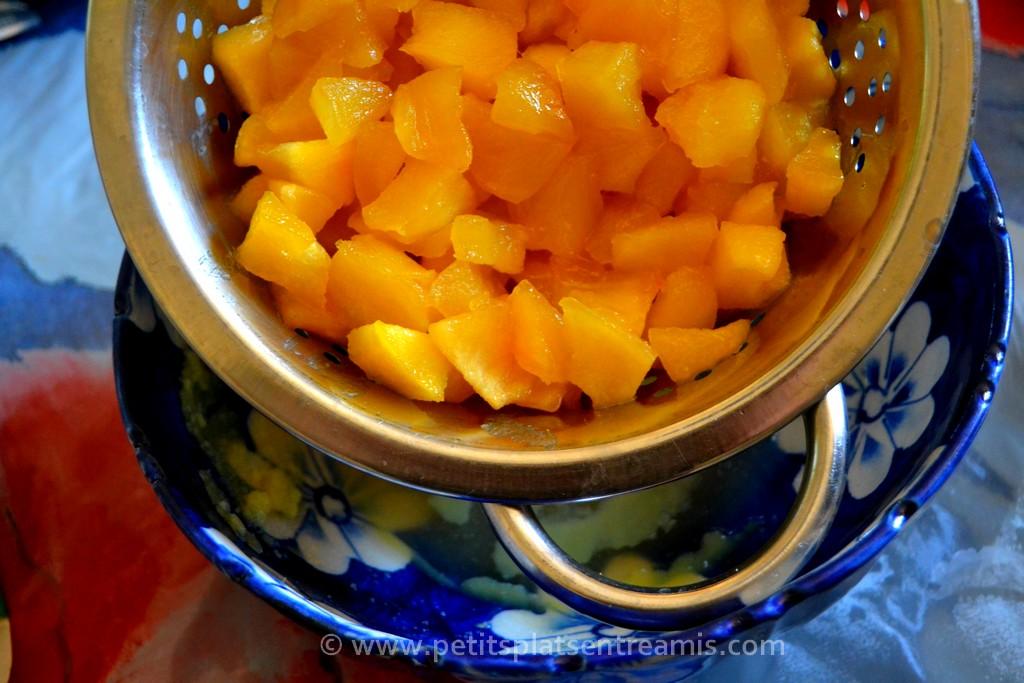 pommes caramélisées réservées