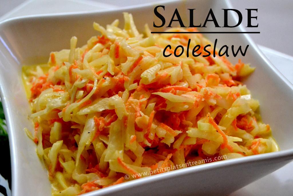 Salade coleslaw petits plats entre amis for Plats entre amis