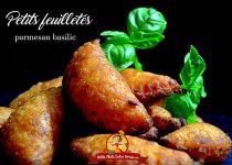 Petits feuilletés parmesan basilic