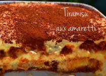 Tiramisu aux amaretti