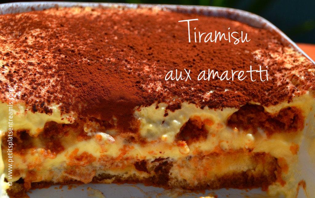 Tiramisu aux amaretti | Petits Plats Entre Amis