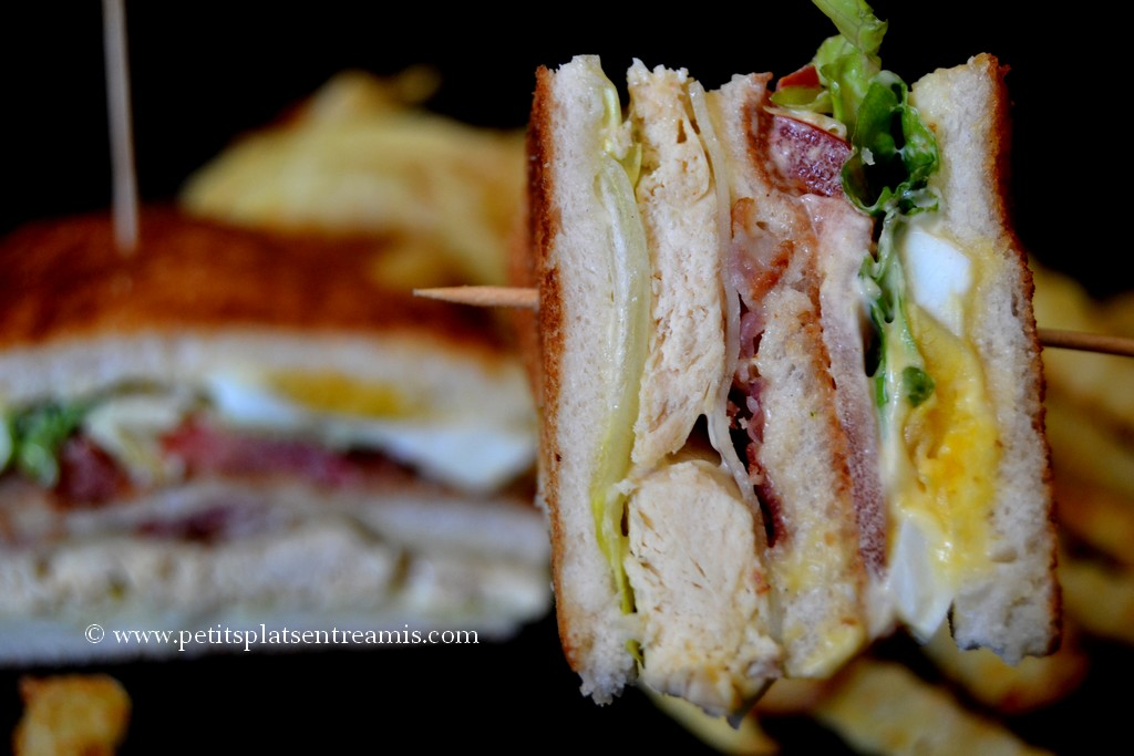 bouchée club sandwich