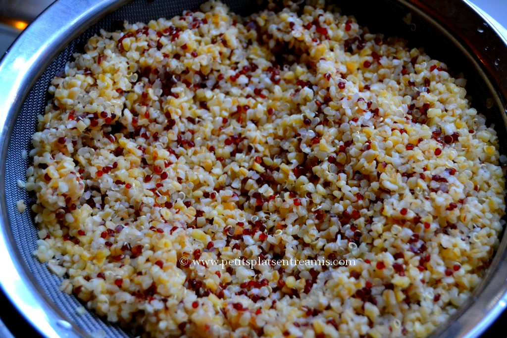 bourghoul et quinoa pour taboulé