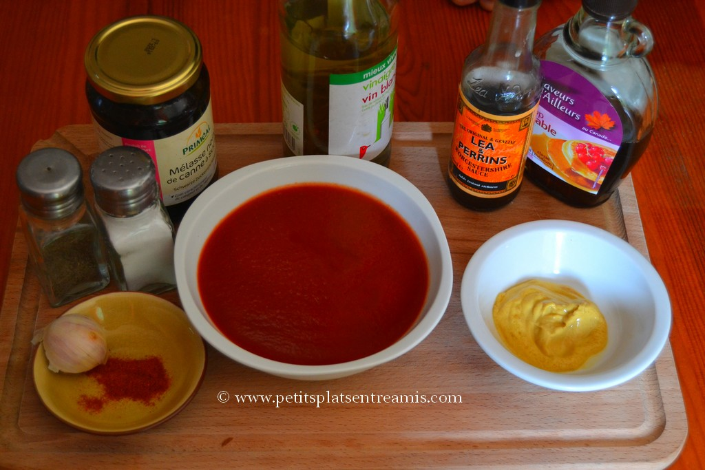 ingrédient sauce barbecue