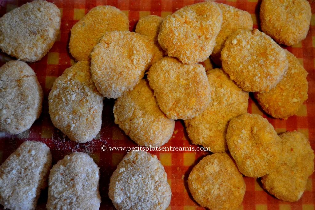 nuggets prêts à frire