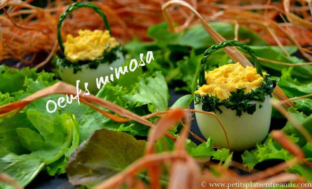 Extrêmement Recette des oeufs mimosa | Petits Plats Entre Amis ER18