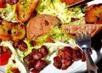 Salade frisée gourmande