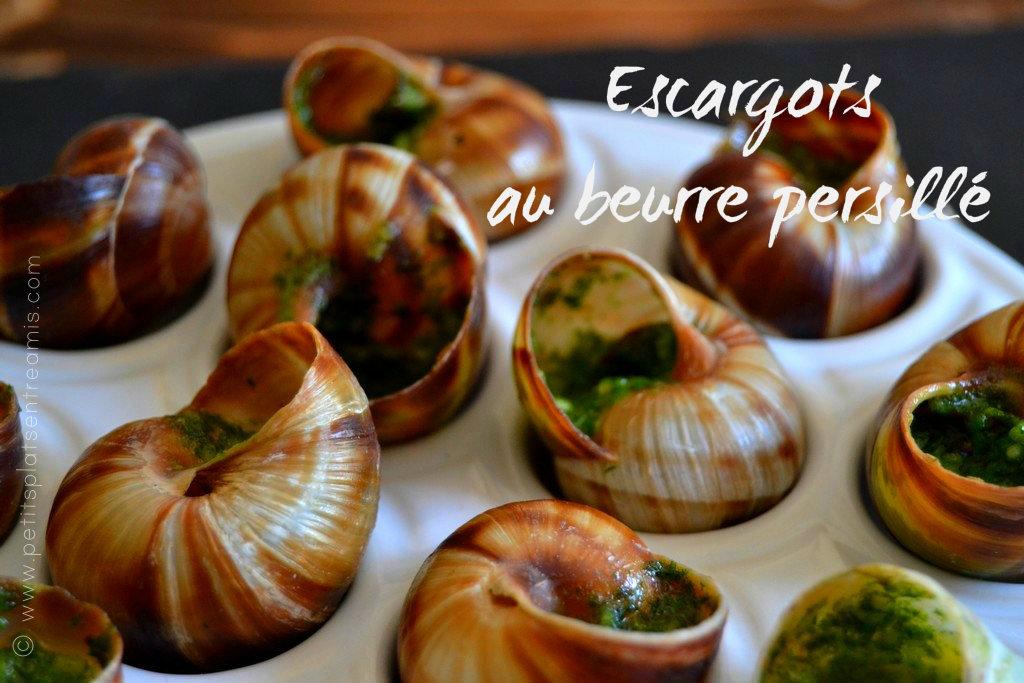 Escargots au beurre persillé | Petits Plats Entre Amis