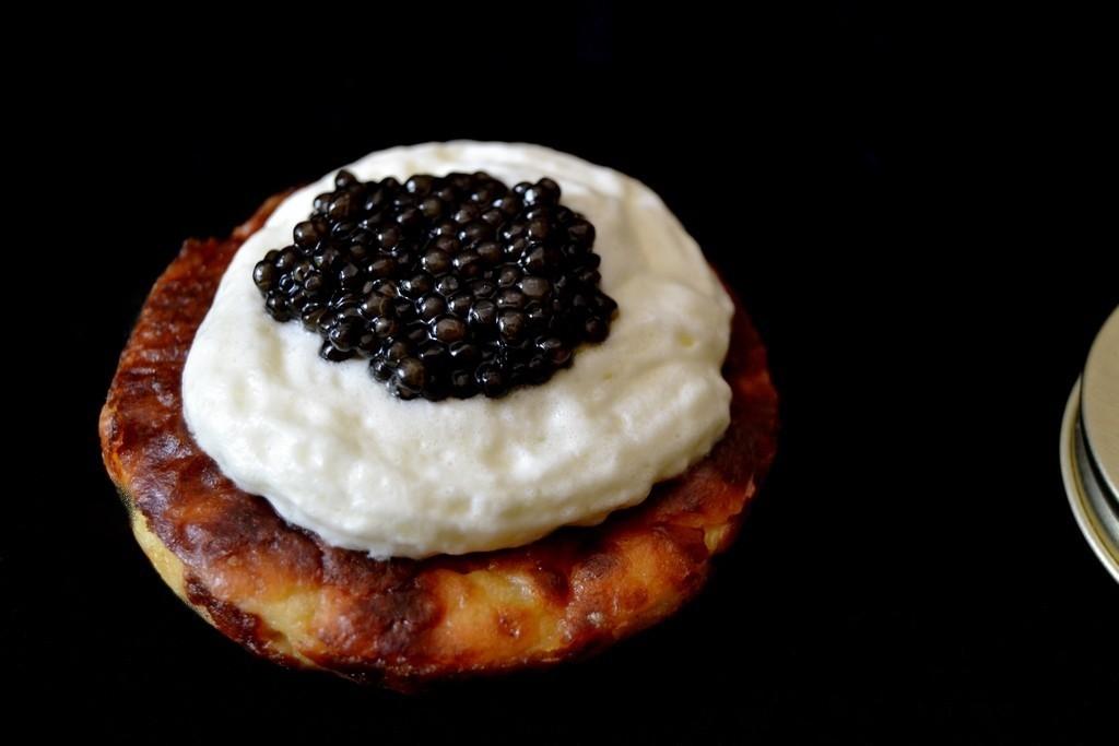 Médaillon de Pompadour au caviar servi