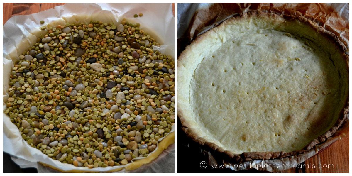 cuisson de la pâte brisée