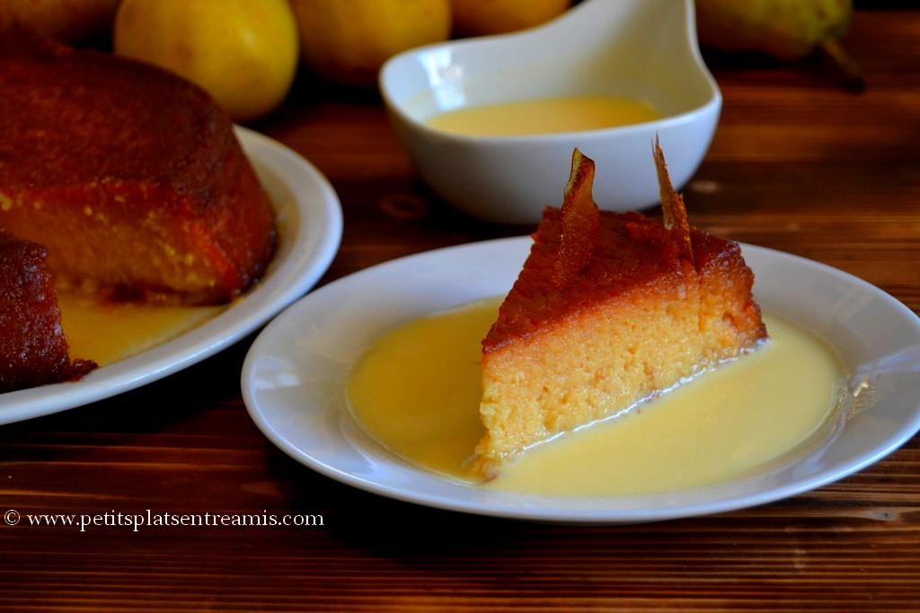 fpndant caramélisé et crème anglaise