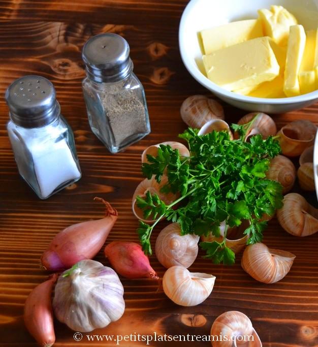 ingrédients beurre persillé